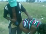 Mzansi outdoor sextape