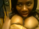 Ghana leak: ghanaian girl with busty boobs