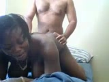 African girl ride that dick