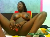 Black Teen show all on webcam