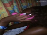 Naija cheating gf on phone with bf