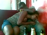 Live blowjob in a Douala bar